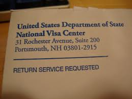 National visa center faq immigration state department for National passport processing center